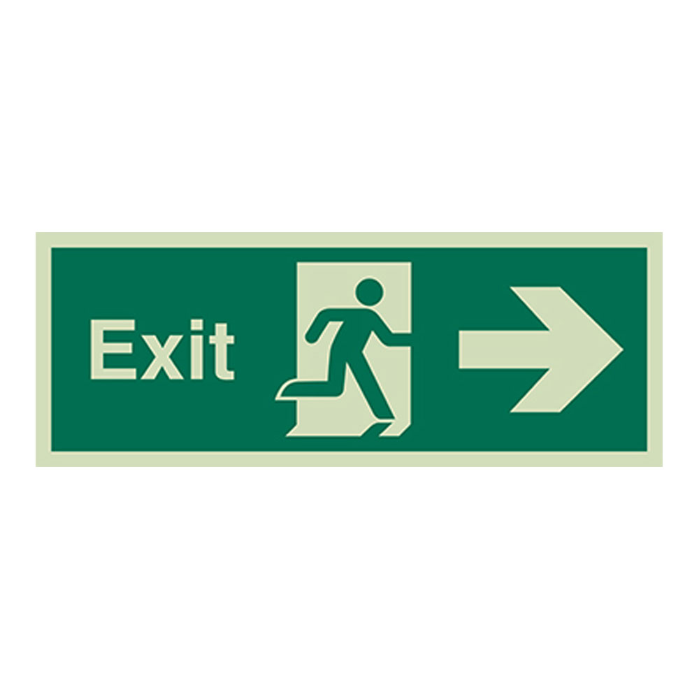 Photoluminescent Safety Signs