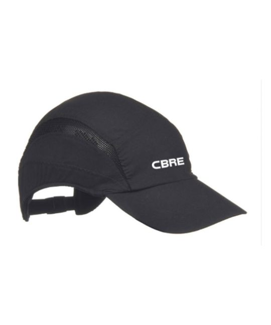 First Base Safety Bump Cap Black