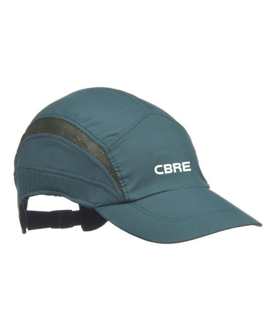First Base Reduced Peak Safety Bump Cap Green