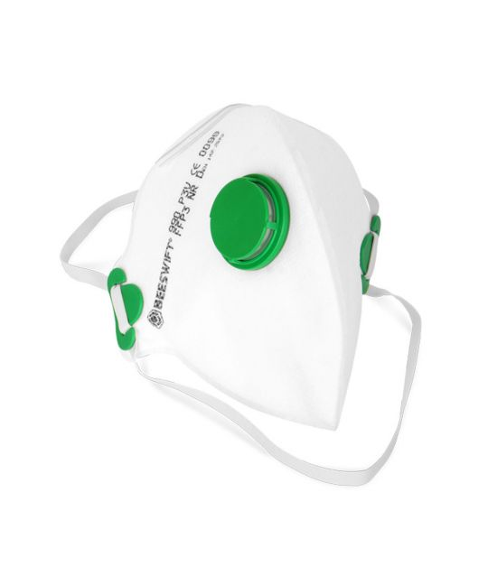 Fold Flat P3 Mask Valved (Pack of 20)