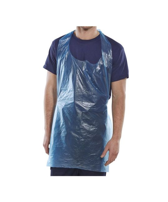 """Disposable Apron 42"""" x 27"""" (107x69mm) Approx. - Single Use (Pack of 10)"""