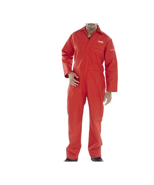 Red Fire Retardant Boilersuit
