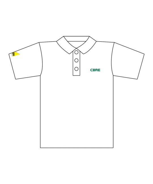 Gas Safe CoolPlus Polo Shirt White