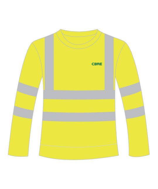 Hi-Visibility Sweatshirt Saturn Yellow