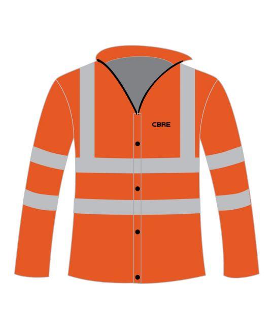 Rail Spec Executive Hi-Visibility Jacket Orange