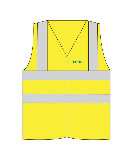 Hi-Visibility FR Vest Saturn Yellow