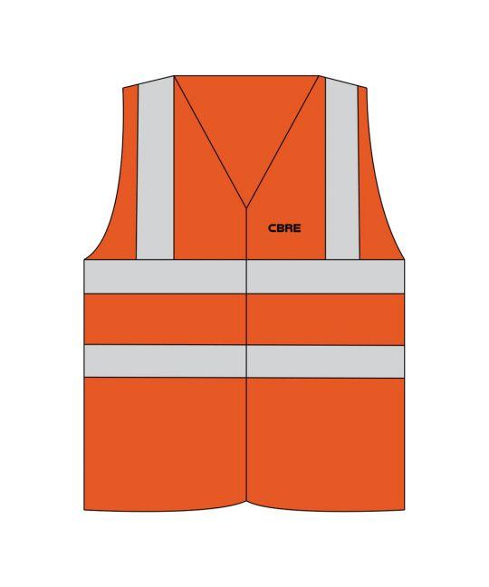 Hi-Visibility FR Vest Orange