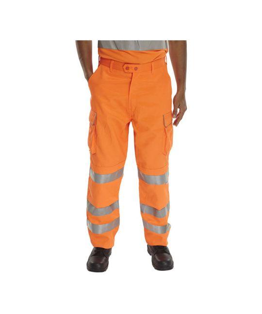 Rail Spec Hi-Visibility Trouser