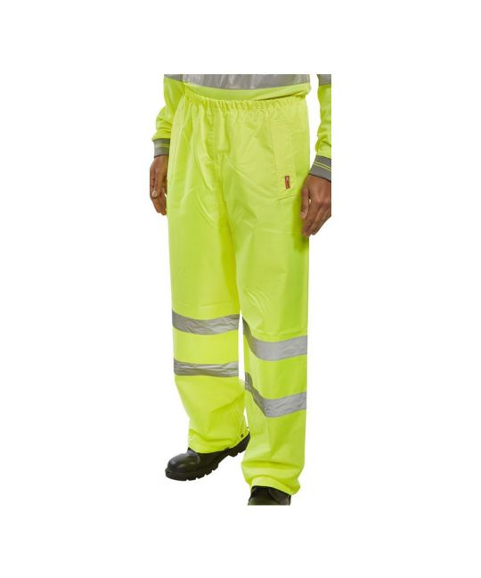 Hi-Visibility Trousers Saturn Yellow