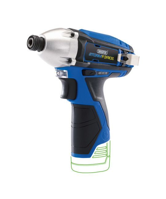 Draper Storm Force 10.8V Cordless Impact Driver - Bare Unit (No Batteries or Charger Included)