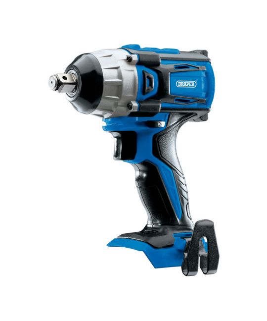 "Draper D20 Brushless 1/2"" Impact Wrench Bare Unit (No Batteries or Charger Included)"
