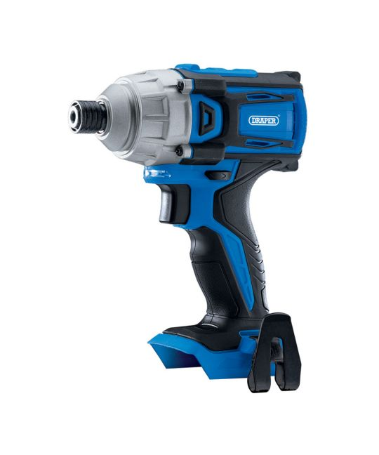 "Draper D20 Brushless 1/4"" Impact Driver Bare Unit (No Batteries or Charger Included)"