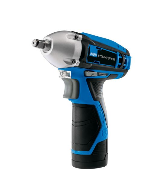 "Draper Storm Force 10.8V 3/8"" Impact Wrench (80Nm) - Bare Unit (No Batteries or Charger Inlcuded)"