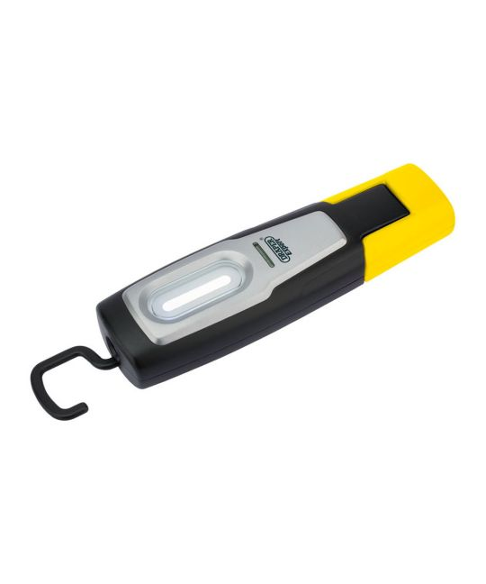 Draper Compact Inspection Lamp With Rechargeable 2W COB LED Yellow