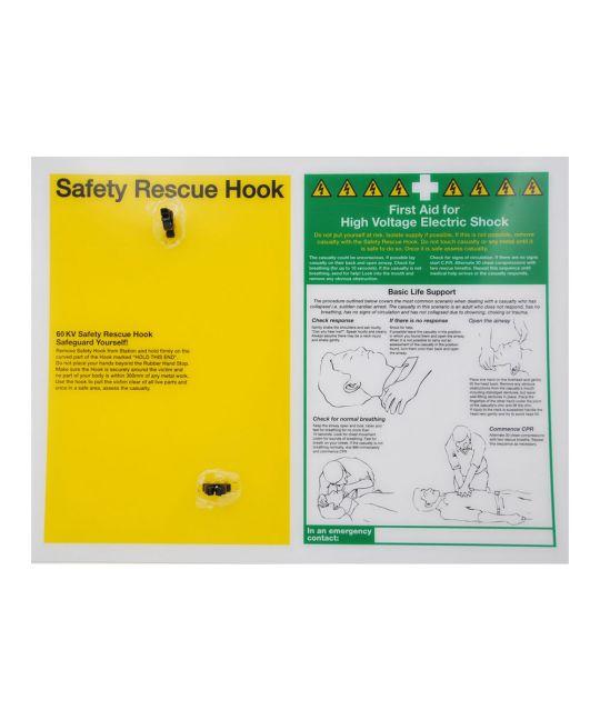 60kV Safety Hook Mounting Station