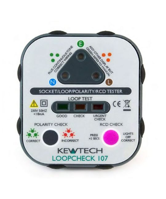 Kewtech 107 Loopcheck Socket Tester