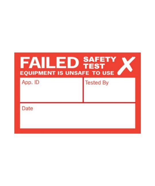 Kewtech Fail PAT Testing Label (Pack of 250)