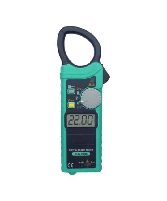 Kewtech KEW2200 Ultra Slim AC Clamp Meter 1000A & 600V