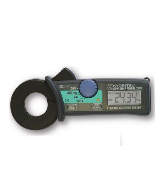 Kewtech Digital 100A Earth Leakage Clam Meter 0.1mA Resolution