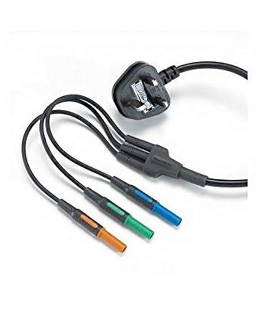 Mains Lead With 3 x 4mm Connectors For KT65
