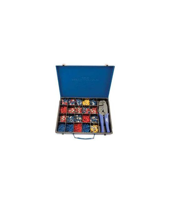 Expert Ratchet Crimping Tool and Terminal Kit