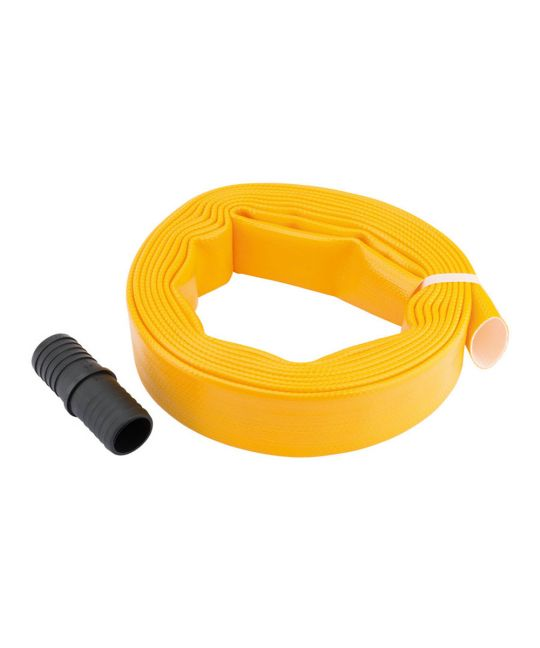 Layflat Hose Supplied With Adaptor (5m x 32mm)