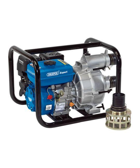 Draper Expert 750l/min Petrol Trash Water Pump (7hp)