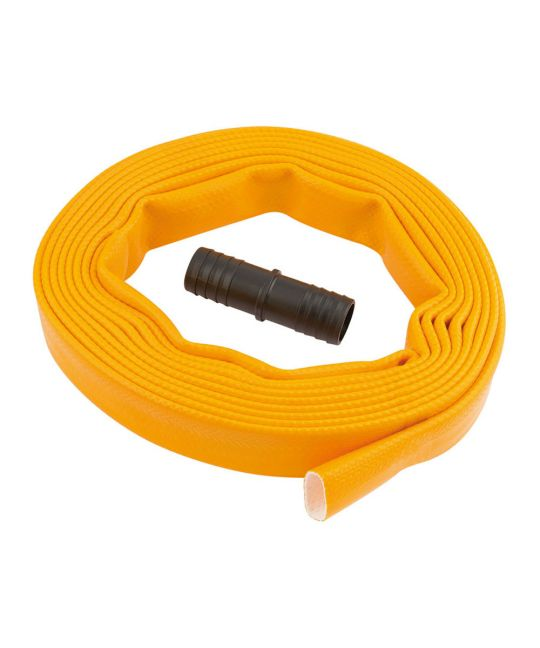 Layflat Hose Supplied With Adaptor (5m x 25mm)