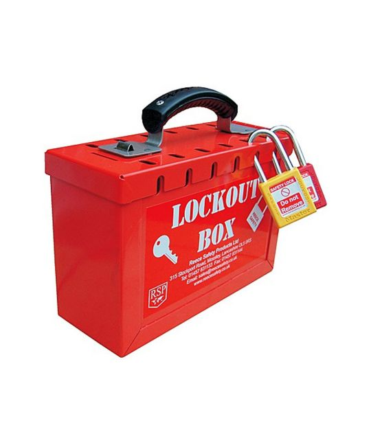 Group Lockout Box