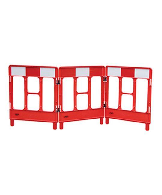 Workgate Red & White 3 Gate Barrier (Plastic)
