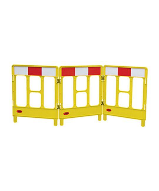 Workgate Yellow 3 Gate Barrier