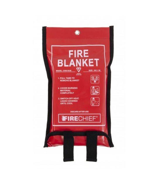 Fire Chief Fire Blanket Soft Case 1m x 1m