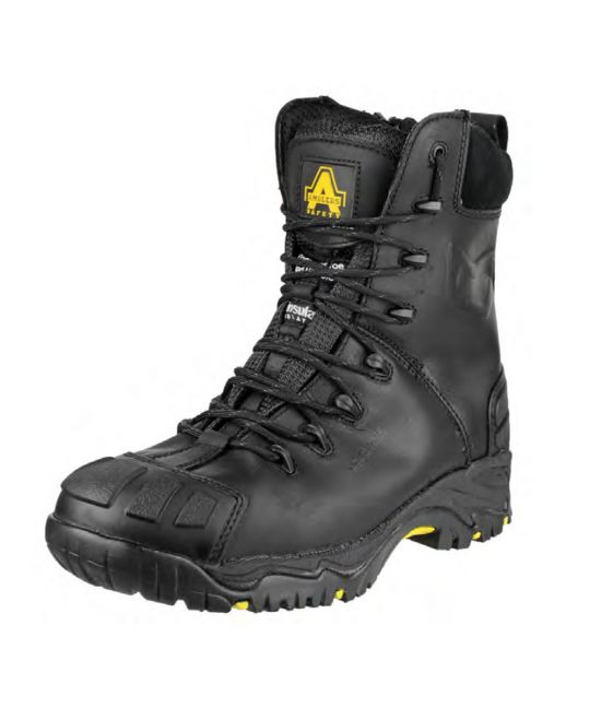 Metal Zip Waterproof Safety Boot