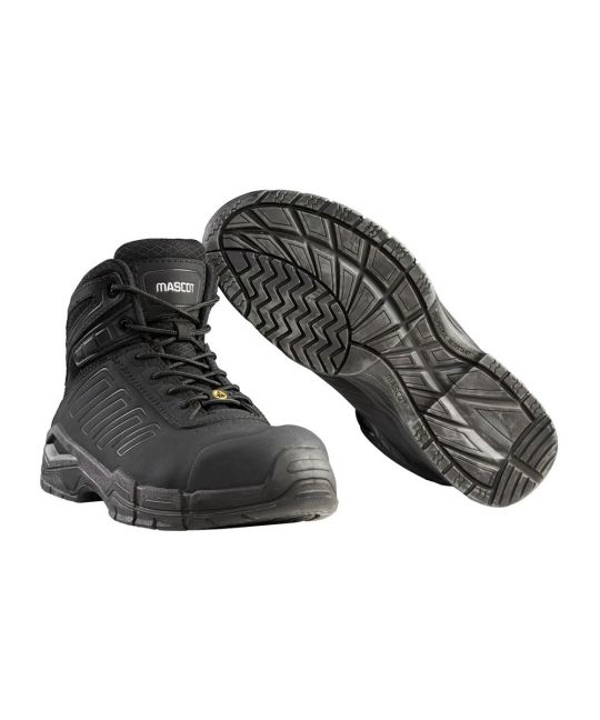 Trivor Metal Free S3 Safety Boot Black