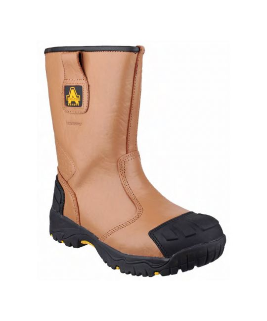 Pull-On Rigger Boot