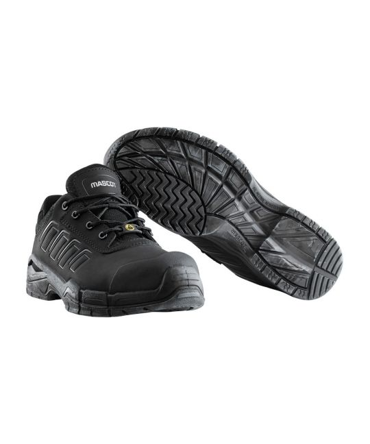 Ultar Metal Free Safety Shoe Black