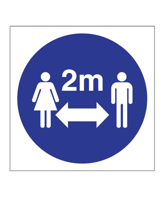 2m Distance Indoor Wall Sign