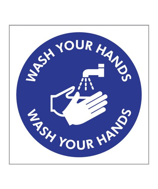 Wash Your Hands Indoor Wall Sign