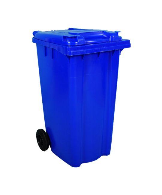 Wheelie Bin Blue For Spill Kit Contents