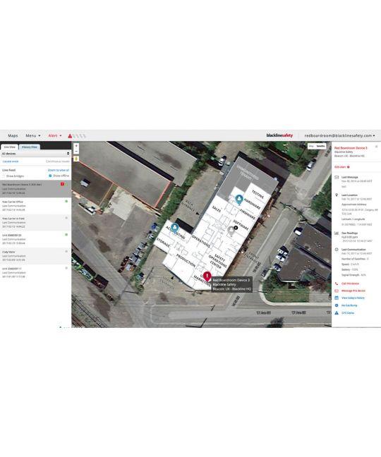 Blackline G7c Device Monitoring Software