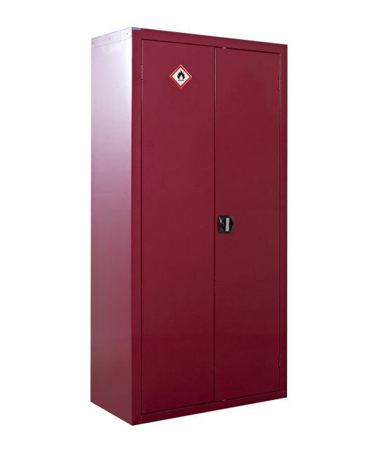 Flammable Liquid Storage Cupboard Red (1800 x 900 x 460mm)