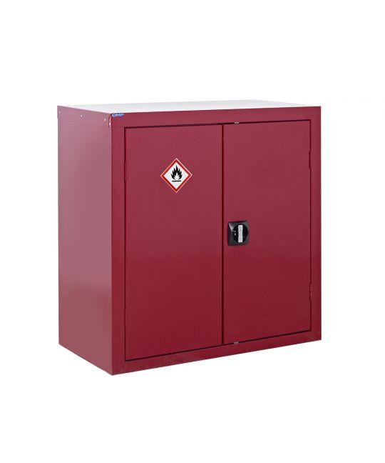 Flammable Liquid Storage Cupboard Red (900 x 900 x 460mm)