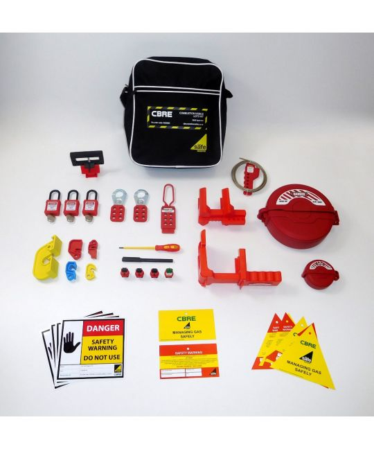 CBRE Approved Gas Mobile LOTO Kit
