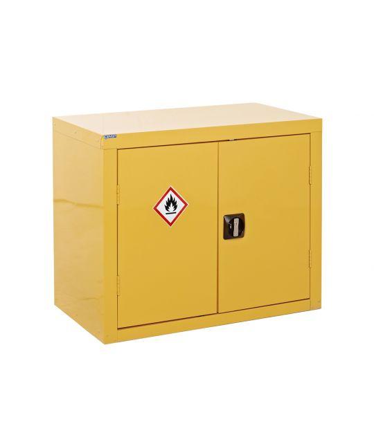 Hazardous Floor Cupboard Yellow (700 x 350 x 300mm)