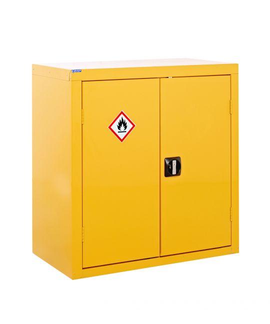 Hazardous Floor Cupboard Yellow (900 x 900 x 460mm)