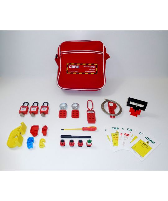 CBRE Approved Electrical Mobile LOTO Kit