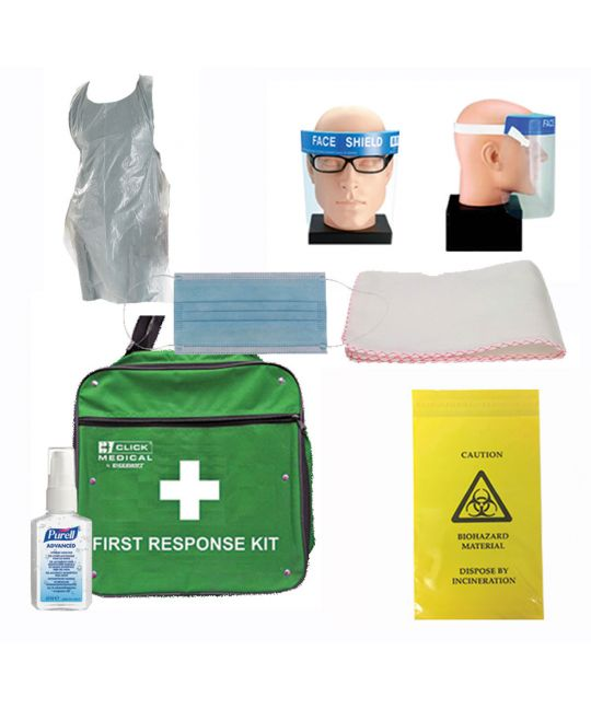 First Aid Responder Additional Kit (No Disposable Gloves)