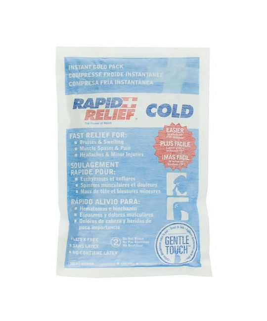 """Rapid Relief Instant Cold Pack Gentle Touch Large (5"""" x 9"""")"""