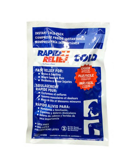 """Rapid Relief Instant Cold Pack Large (5"""" x 9"""")"""