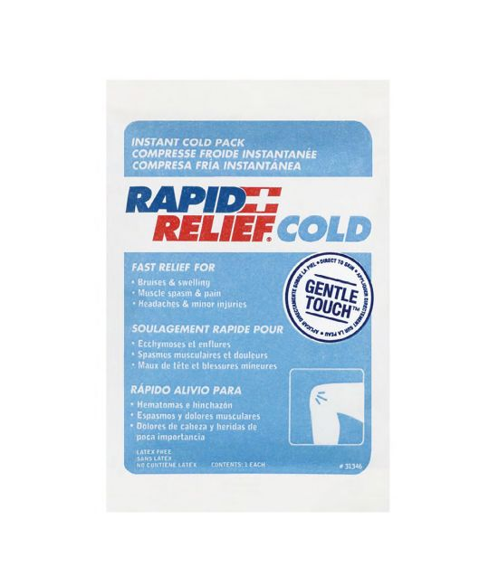 """Rapid Relief Instant Cold Pack Gentle Touch Small (4"""" x 6"""")"""